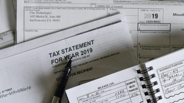 税金申告書類